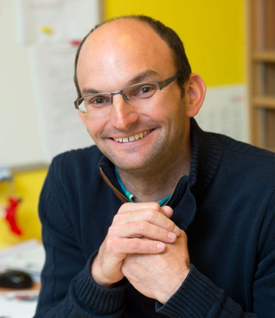 Sébastien Perret, concepteur paysagiste chez Perret Paysage à Tournus