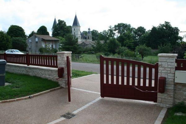 Clotures et portails, Perret Paysage Tournus