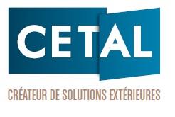 Logo Cetal, portails et clotures