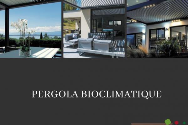 Pergola Bioclimatique - Perret Paysage