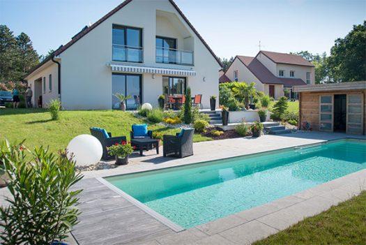 Les piscines et Spas par Perret Paysage, Tournus